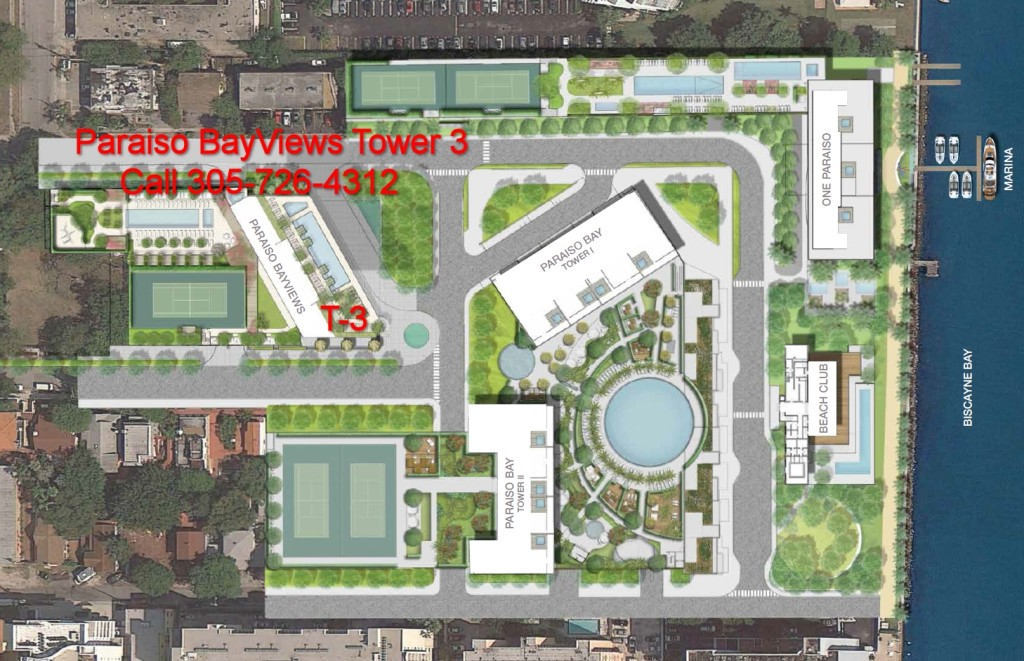 Paraiso Bay Tower 3 Site Map